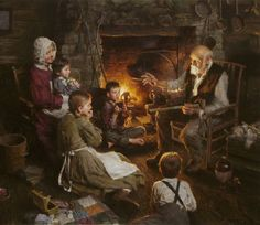 Indian Stories - tales from frontier by artist Morgan Weistling