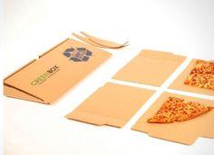 GreenBox, la boite à pizza de demain