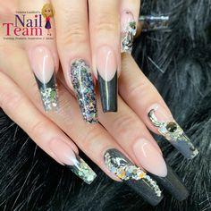 Coffin Nails Long, Long Nails, Ballerina Nails, Nail Trends, Nails Inspiration, Nail Designs, Nail Art, Beauty, Nail Desings