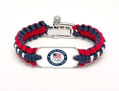 Light Duty Survival Bracelet™ - US Olympic Team (White)-don't really know what a survival bracelet is...but I want one!
