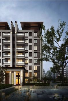 Architecture is art Building Facade, Building Exterior, Facade Architecture, Residential Architecture, Facade Design, Exterior Design, Residential Building Design, Facade House, Modern Buildings