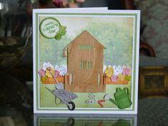 TL chalet gardening card