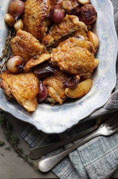 Chicken with Cider Vinegar Cream and Caramelised Apples {AIP, GAPS, SCD, Paleo} – Healing Family Eats
