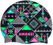 New! Amanzi Harvest Silicone Swim Cap Silicone AM01071 Swim hats