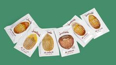 Justin's Nut Butter Squeeze Packs. All them are very cute and appealing packagings. Make eating even more fun.