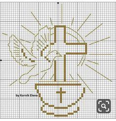 Disney Cross Stitch Patterns, Peyote Stitch Patterns, Beading Patterns Free, Cross Stitch Designs, Everything Cross Stitch, Première Communion, Christmas Journal, Crochet Cross, Plastic Canvas Patterns