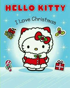 I Love Christmas Sticker Activity Book (Hello Kitty) by Sanrio Hello Kitty, Hello Kitty Clipart, Hello Kitty Art, Hello Kitty Pictures, Hello Kitty Items, Kawaii, Hello Kitty Christmas, Christmas Unicorn, Pochacco