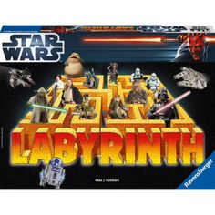 STAR WARS Labyrinth Board Game by Ravensburger (japan import) in Board Games. Star Wars Games, Star Wars Toys, Labyrinth Board Game, Jouet Star Wars, Star Wars Collection, Christmas Toys, Table Games, Games To Play, Board Games