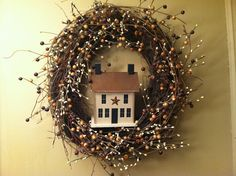 Pinterest Country Decor | country decorating wreath to see our country decorating videos please ...