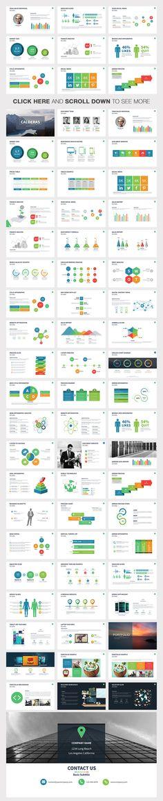 Calderas Powerpoint Template by Slidedizer on Creative Market