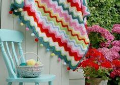Coco Rose Diaries: The Circus Patchwork Blanket Ta-dah. Manta Crochet, Crochet Baby, Knit Crochet, Crochet Ripple, Square Blanket, Afghan Blanket, Patchwork Blanket, Coco Rose Diaries, Bottle Cover
