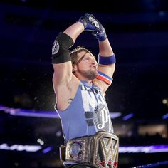 SmackDown General Manager Shane McMahon makes a match for No Mercy – WWE World Champion AJ Styles vs. Dean Ambrose and John Cena. Aj Styles Wwe, Dean Ambrose, Wwe 2, Wwe Draft, Shane Mcmahon, Wrestling Stars, Wwe World, Wwe Champions, Wwe News