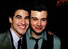 Chris visits Darren on Broadway! <HE DID NAWT. did he really? i feel like this is a manip.