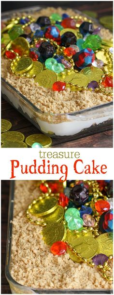 Treasure Pudding Cak