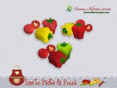 Poivrons et tomate