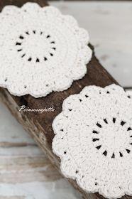 Diy Crochet Doilies, Crochet Flower Patterns, Crochet Flowers, Crochet Stitches, Knitting Patterns, Knit Crochet, Crafts To Do, Diy Crafts, Crochet Stars