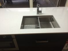 ikon sink with small sink inside and rack Kitchen Planner, Small Sink, New Builds, Ikon, Kitchens, Home Decor, Decoration Home, Room Decor, Kitchen