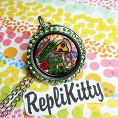 Cowabunga! Custom Teenage Mutant Ninja Turtle locket set! Handmade in the USA! Can be customized however you like! Available by request at www.replikitty.etsy.com #ninjaturtles #tmnt #vintagetoys #80stoys #donatello #raphael #leonardo #michaelangelo #splinter #thefoot #cowabunga #pizza #turtlepower #toycollector #comicon #girls #jewelry #collect #ideas