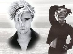 Brad Pitt haircut and hair style pictures
