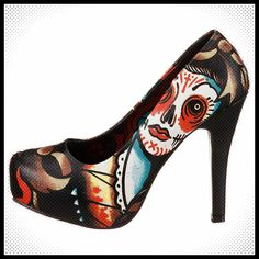 Iron Fist Lucky-Lucy Pumps