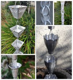 Beautiful Aluminum Rain Chains