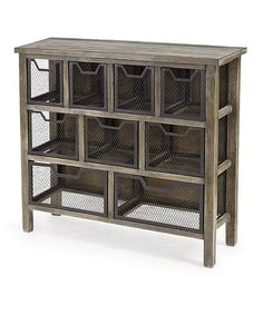 Loving this Rustic Console Table on #zulily! #zulilyfinds