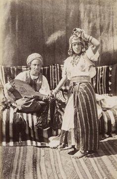 Ouled Nail dancer, Algeria c 1910?