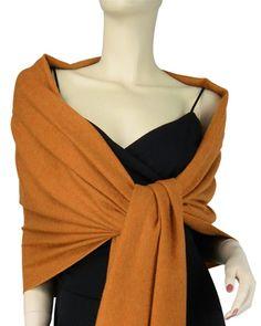 Burnt Orange Pashmina Wrap