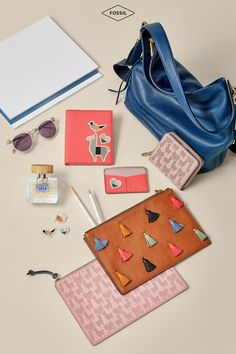 The perfect Galentine's Day gifts: tassel zip pouches, embossable wallets, sunglasses and more. Check out these must-haves for your BFF in our Valentine's Day gift guide!