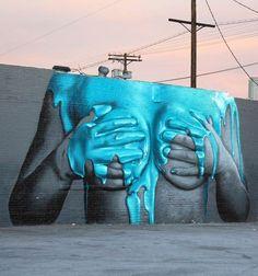 Exterior Gloss – Street Art by Insa