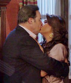 Telenovela triunfo del Amor Victoria y Heriberto