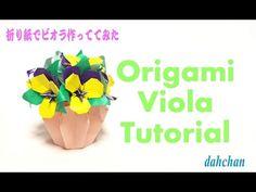 Origami Fragrant olive Tutorial★折り紙でキンモクセイを作ってみた - YouTube
