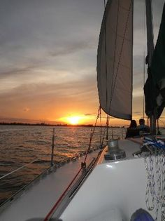 evening/night sailing trip on a sail boat, with guided tour for 6. #15 of 71 San Juan activites on TripAdvisor
