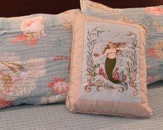 Katie McRostie Mermaid Pillow