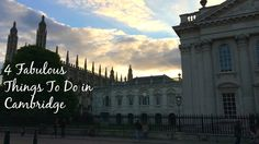 IF you end up in Cambridge, England - here are some top tips to do while you're there. My favourites anyway. Places To Visit Uk, Stuff To Do, Things To Do, Uk Holidays, Great Britain, Where To Go, About Uk, Travel Inspiration, Cambridge England