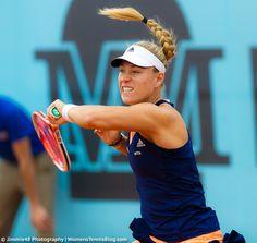 Flying-hair pics, my #WTA favorite #MMOPEN15 Angelique Kerber