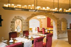 The Wine Vault Restaurant is located inside the luxurious hotel Monte Mulini in Rovinj, and is renowned as one of the best restaurants in Croatia. Wine Vault, Visit Croatia, Leading Hotels, Wine List, Vaulting, Wine Cellar, Traditional Design, Fine Dining, Contemporary