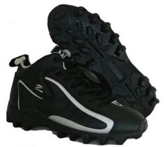 bb8a80366af Zephz WideTraxx Football Cleat Adult  zephz introduces the Wide Traxx  Football shoe in Black Silver. An EE Width shoe that features a shoe in  Black Silver.