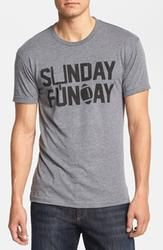Kid Dangerous Grime Couture 'Sunday Funday Football' T-Shirt  $36.00
