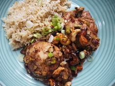 Chinese-Inspired Chicken Thighs with creamed coconut   Lucy Bee Coconut Oil