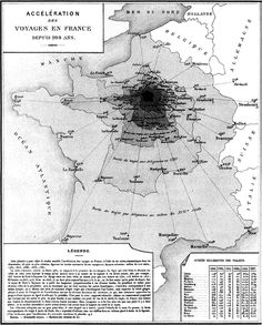 www.researchgate.net profile Michael_Friendly publication 45858111 figure fig10 AS:276894403579904@1443028178016 Fig-15-Anamorphic-map-Acceleration-of-Travel-in-France-over-200-Years-Acceleration.png