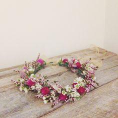 waxflower, heather, flower crown - WildFolk Studio