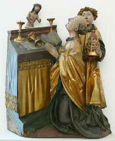Gregorsmesse, Ulm oder Ravensburg um 1480 (Bode-Museum Berlin)