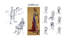 Character Designs do filme Ferdinand, por Sergio Pablos e Sang Jun Lee | THECAB - The Concept Art Blog