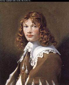 Karel Dujardin - Portrait of a Young Man
