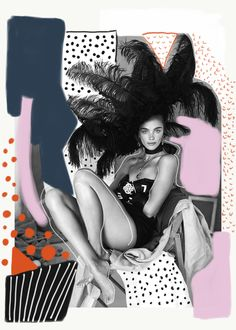 • Collage by Nor Laura • Jena Goldsack by Sergi Pons