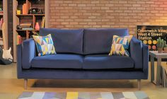 Give your Living Room an entirely new look with our stunning Lola Sofa Collection - Fabulous design & incredible comfort!