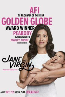 Jane the Virgin (2014– ) TV Series  |  60 min  |  Comedy Next Episode Mon, Oct 19 at 8:00 PM on CW Ratings: 7.7/10 from 8,145 users    Reviews: 19 user | 12 critic A young, devout woman discovers that she was accidentally artificially inseminated.  Creator: Jennie Snyder Urman Stars: Gina Rodriguez, Andrea Navedo, Yael Grobglas