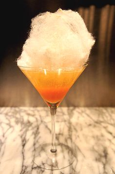 12 fall cocktails - including this candy corn cocktail from The Kennebunk Inn