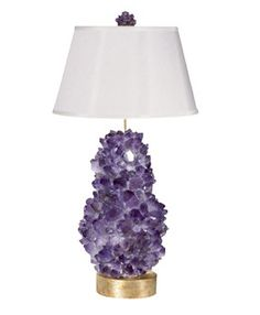 Tall amethyst lamp by McCoy Lighting. http://lonnymag.com/issues/43-lonny-october-2012/pages/1#p9